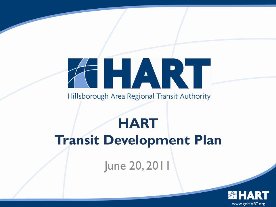 HART Transit Development Plan June 20, 2011