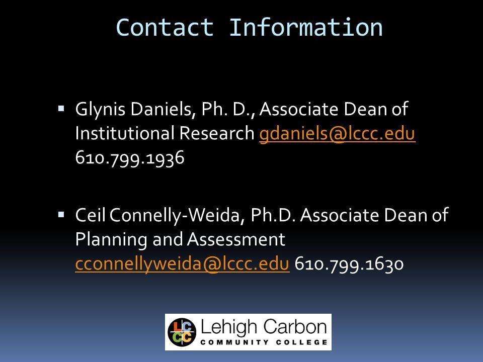  Glynis Daniels, Ph.
