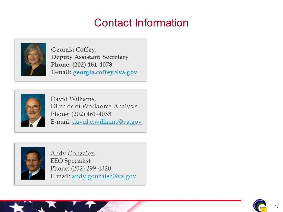 Contact Information 17