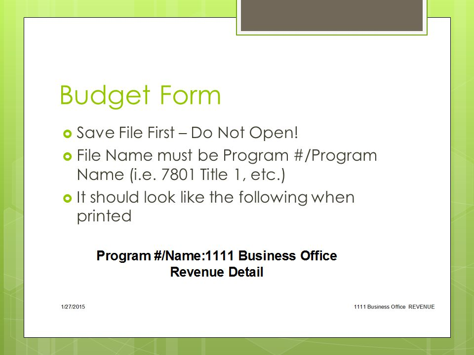 Summary of Changes  Changes to Line Items  Changes to FTE's  Requests for Positions  Just include in Word Document
