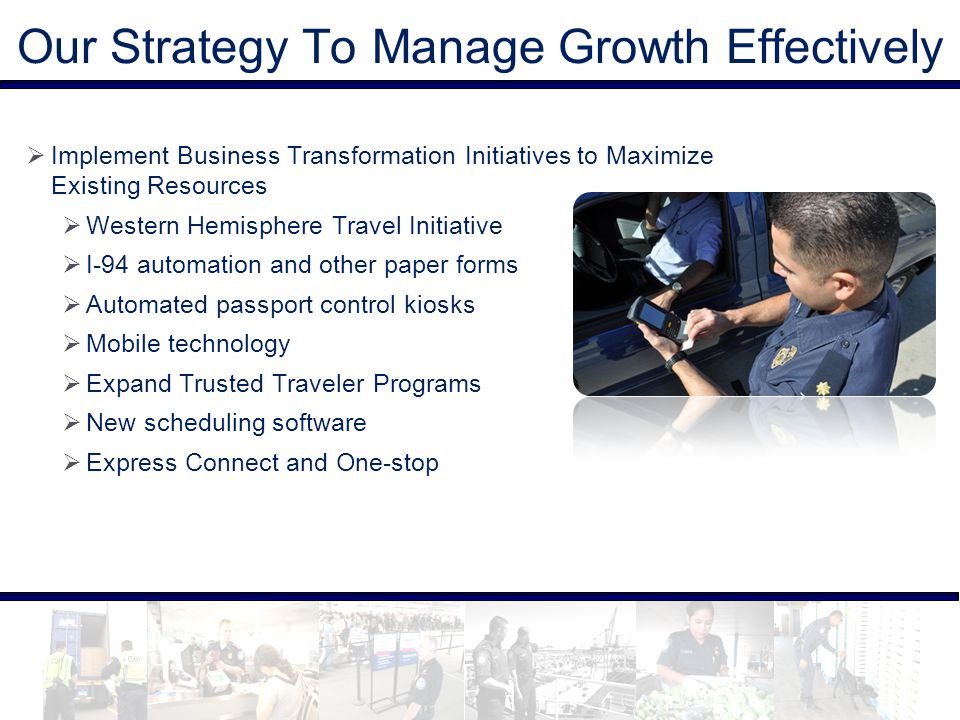 Our Strategy To Manage Growth Effectively  Implement Business Transformation Initiatives to Maximize Existing Resources  Western Hemisphere Travel I