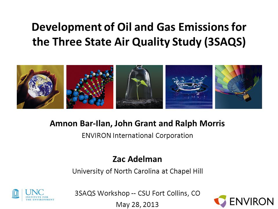 Template Development of Oil and Gas Emissions for the Three State Air Quality Study (3SAQS) Amnon Bar-Ilan, John Grant and Ralph Morris ENVIRON Intern