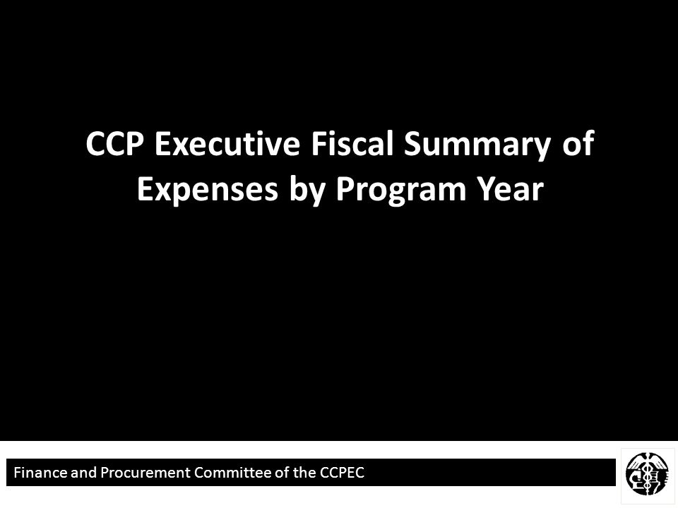 Finance and Procurement Committee of the CCPEC Process Recomendations for 2015- 2016 Allocation 1.Expedite Evaluation Contract 2.