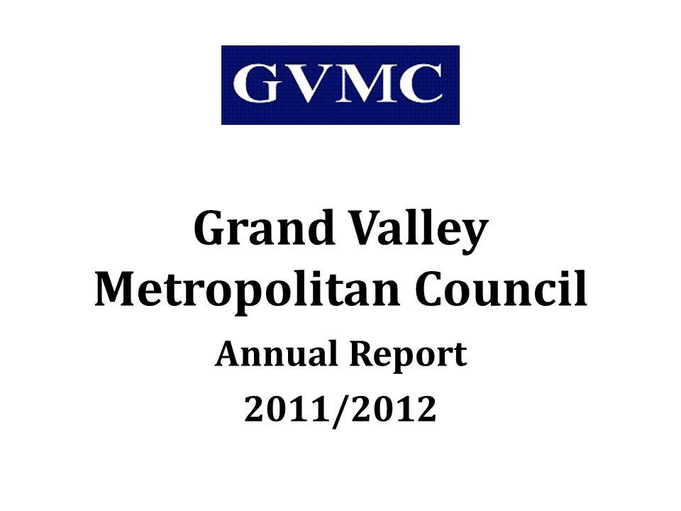 Grand Valley Metropolitan Council Annual Report 2011/2012