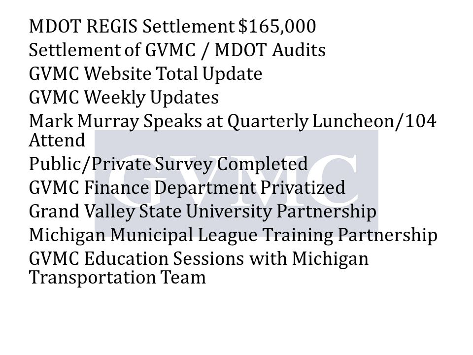 Quarterly Luncheon Revenue 7/12 Event Sponsored by Meijer Annual Report 2011/2012