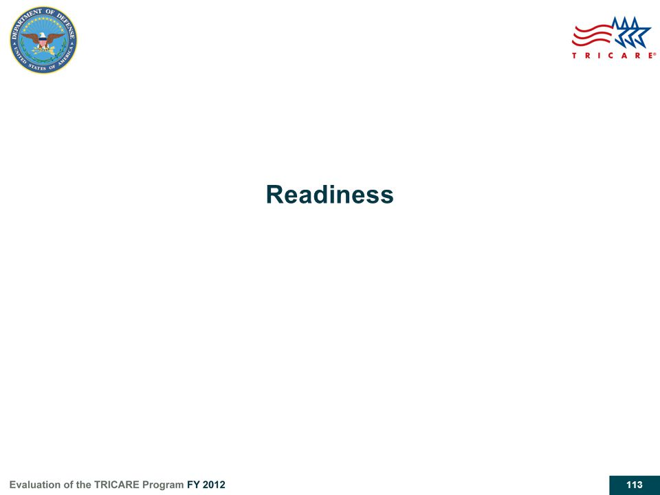 113 Readiness