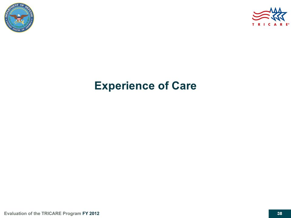 38 Experience of Care