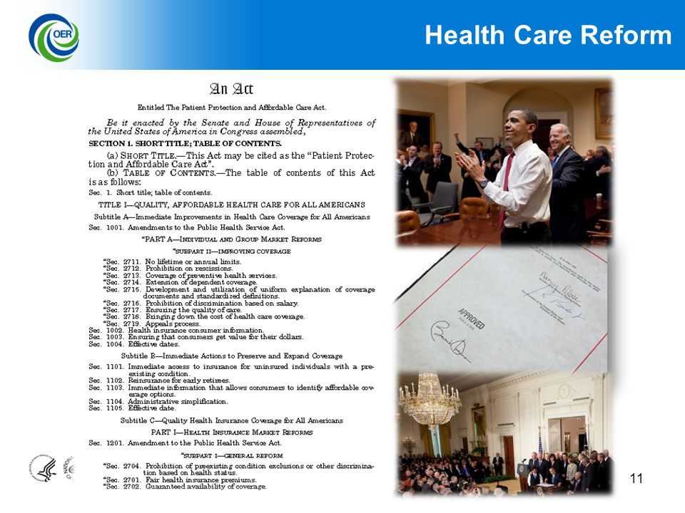 11 Health Care Reform