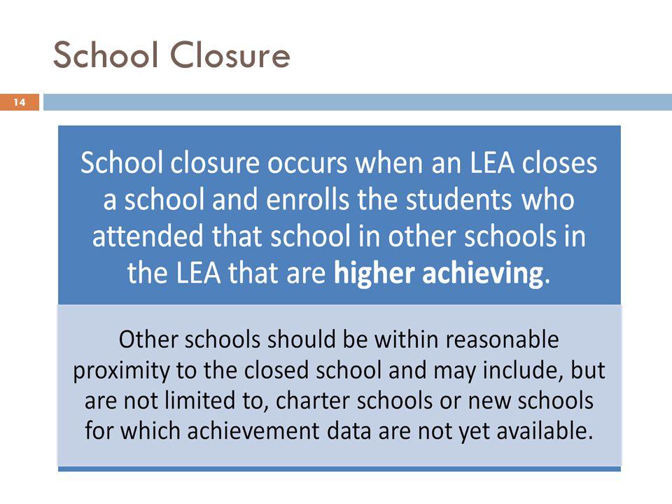 School Closure 14