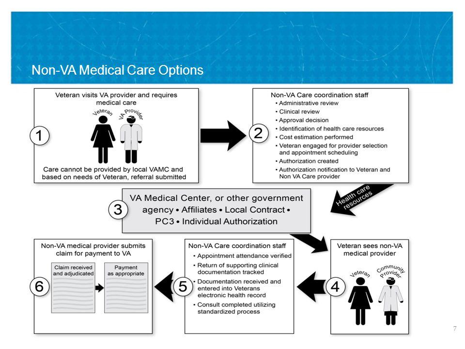 VETERANS HEALTH ADMINISTRATION Non-VA Medical Care Options 7