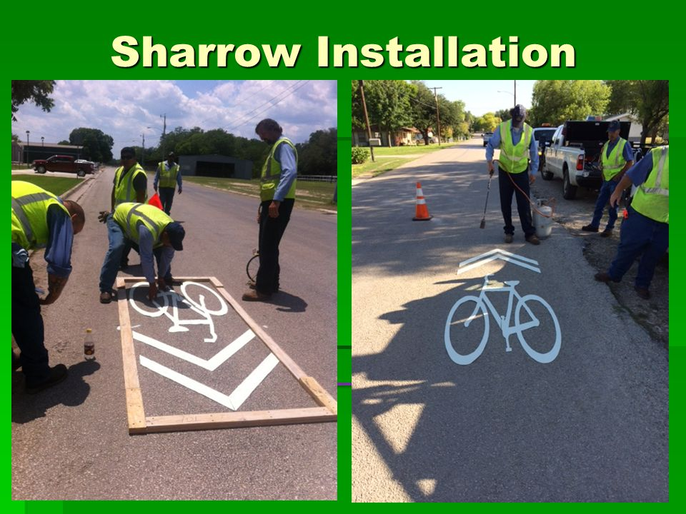 Sharrow Installation