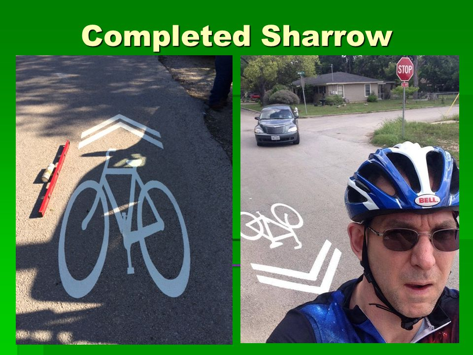 Completed Sharrow