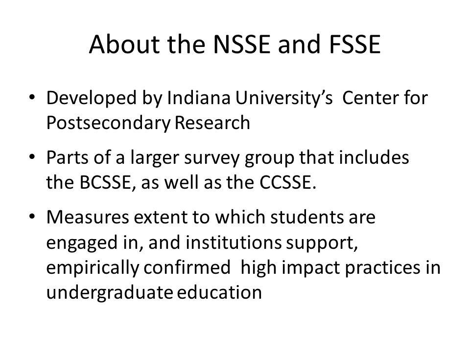NSSE 3.c.