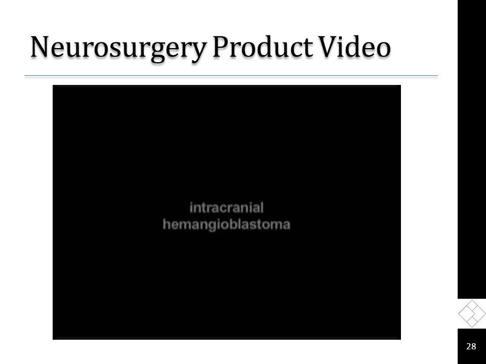 Neurosurgery Product Video 28