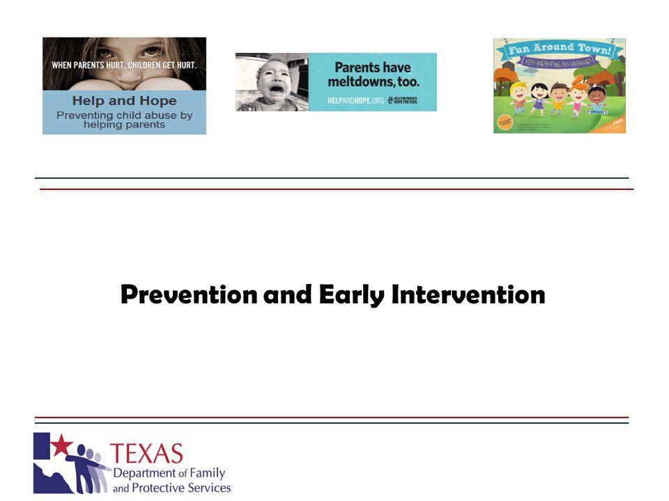 PEI's Function and Purpose Texas Family Code Sec.265.002.