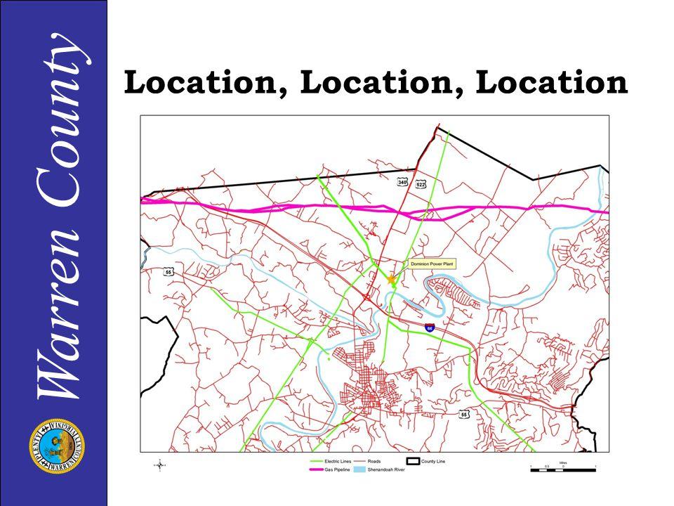 Warren County Location, Location, Location
