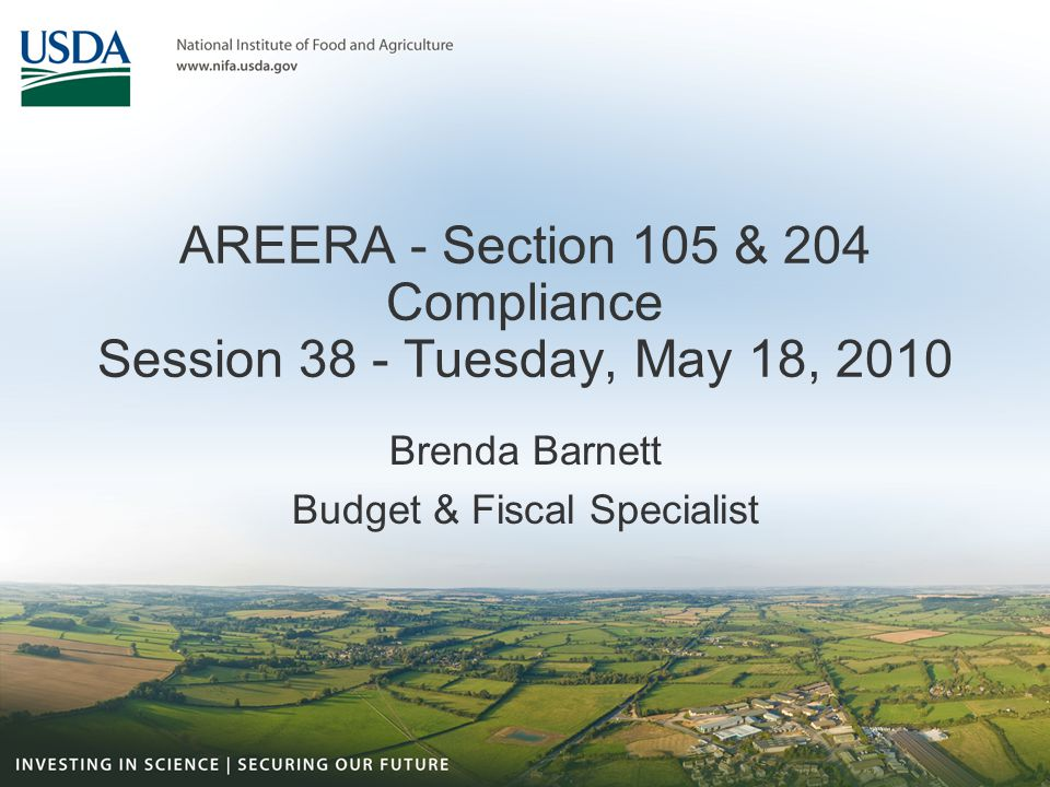 Administrative Guidance Certification is required by the land-grant institutions (LGI) of expenditures of formula grant funds used to meet the requirements of the Agricultural Research, Education, and Extension Reform Act of 1998 (AREERA).