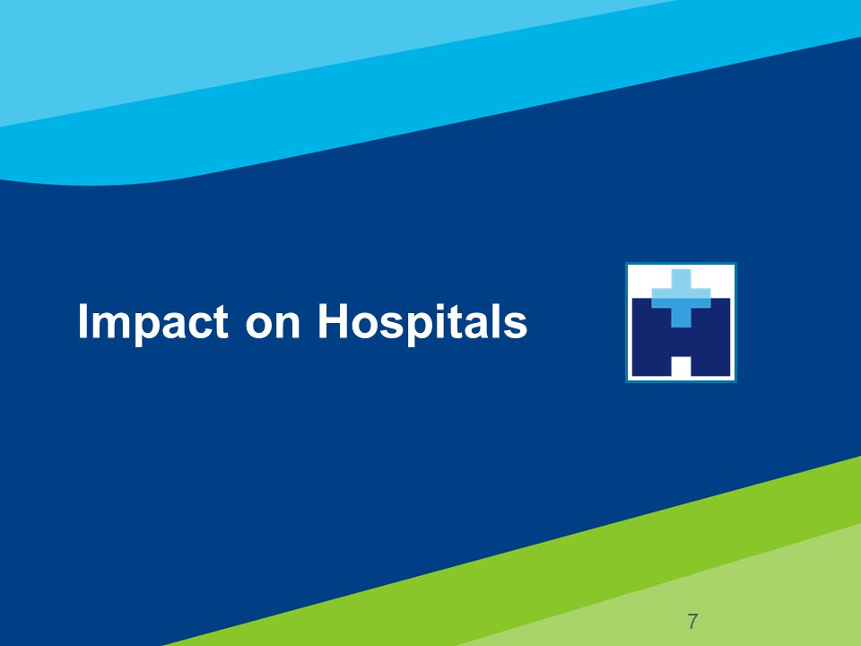 8 Imperatives for Hospital's Future Success Manage costs to reimbursement –Educating providers about margin –Educating providers about reimbursement schemes Align incentives for hospital, physicians and non-acute providers (preparation for ACO) Migrate from fee-for-volume to fee-for-quality –Value Based Purchasing Focus on chronic disease management –Bundled payments –Episodes of care *Source: Modern HC 6-29-09, pg 16 MEDPAC.