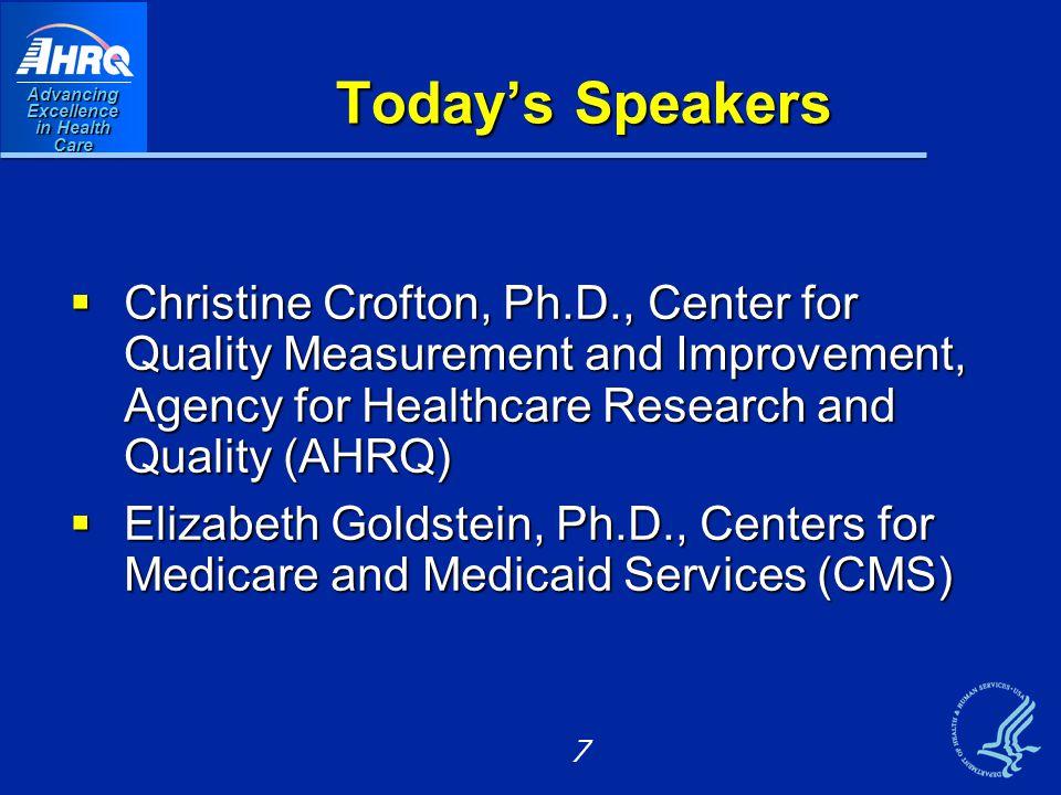 June 2012 HCAHPS and Hospital Value-Based Purchasing (Hospital VBP) Liz Goldstein, Ph.D. 8