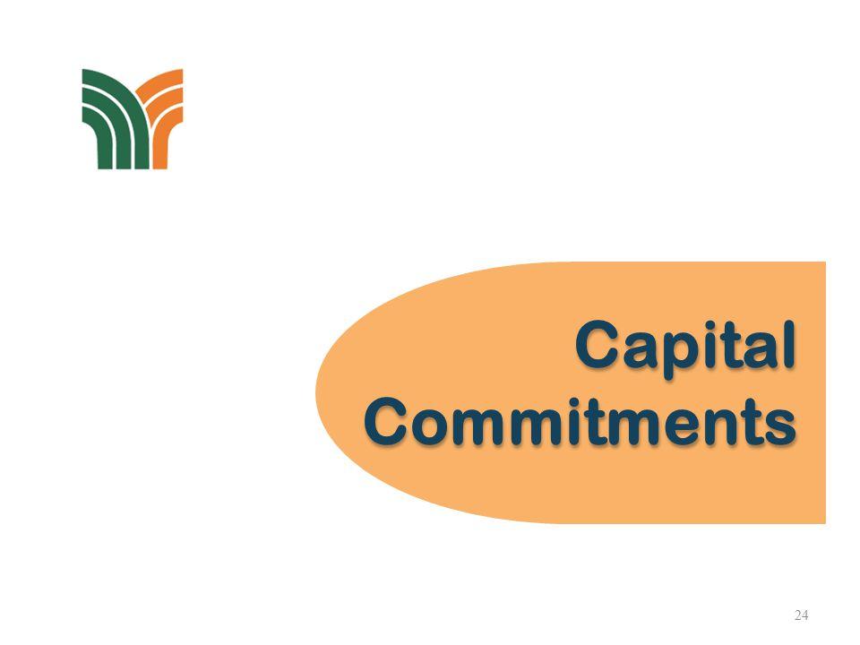 Capital Commitments Capital Commitments 24