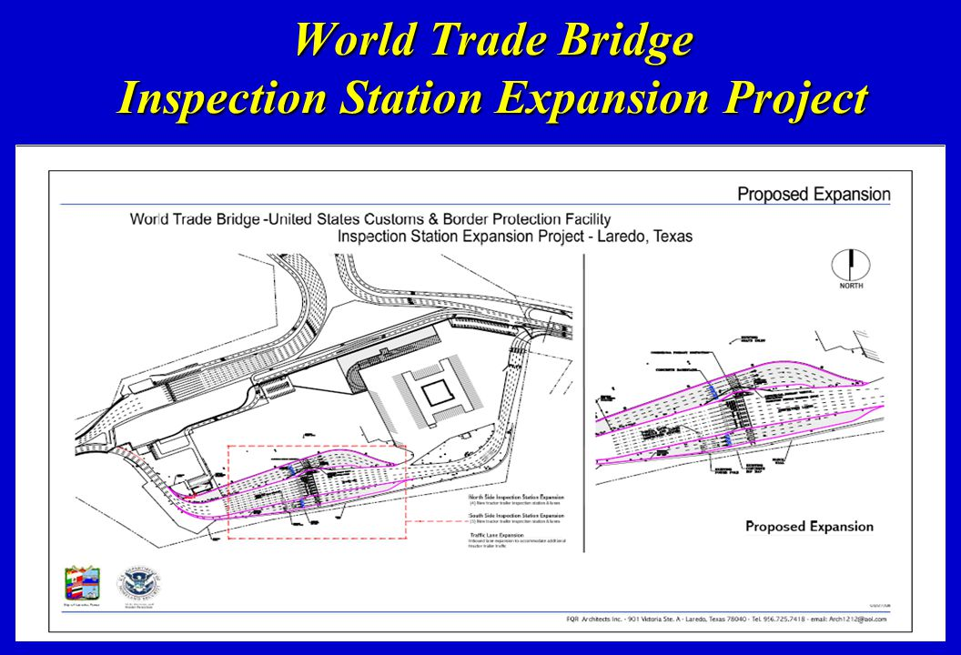 World Trade Bridge Inspection Station Expansion Project