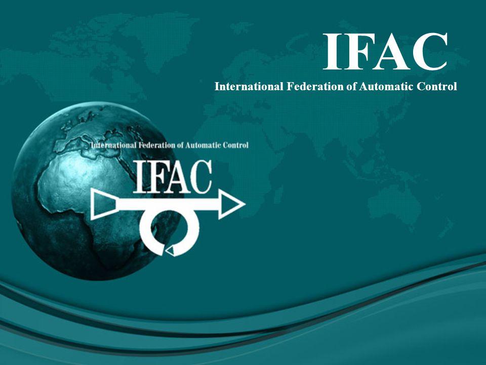 IFAC International Federation of Automatic Control