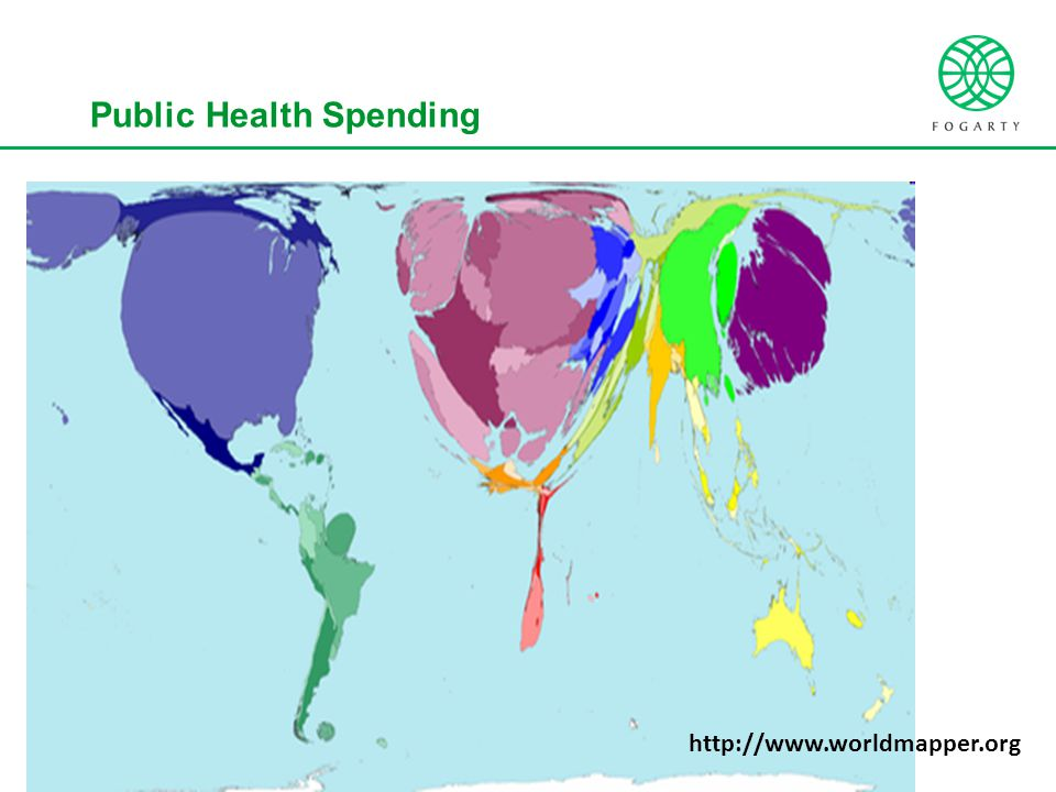 Public Health Spending http://www.worldmapper.org