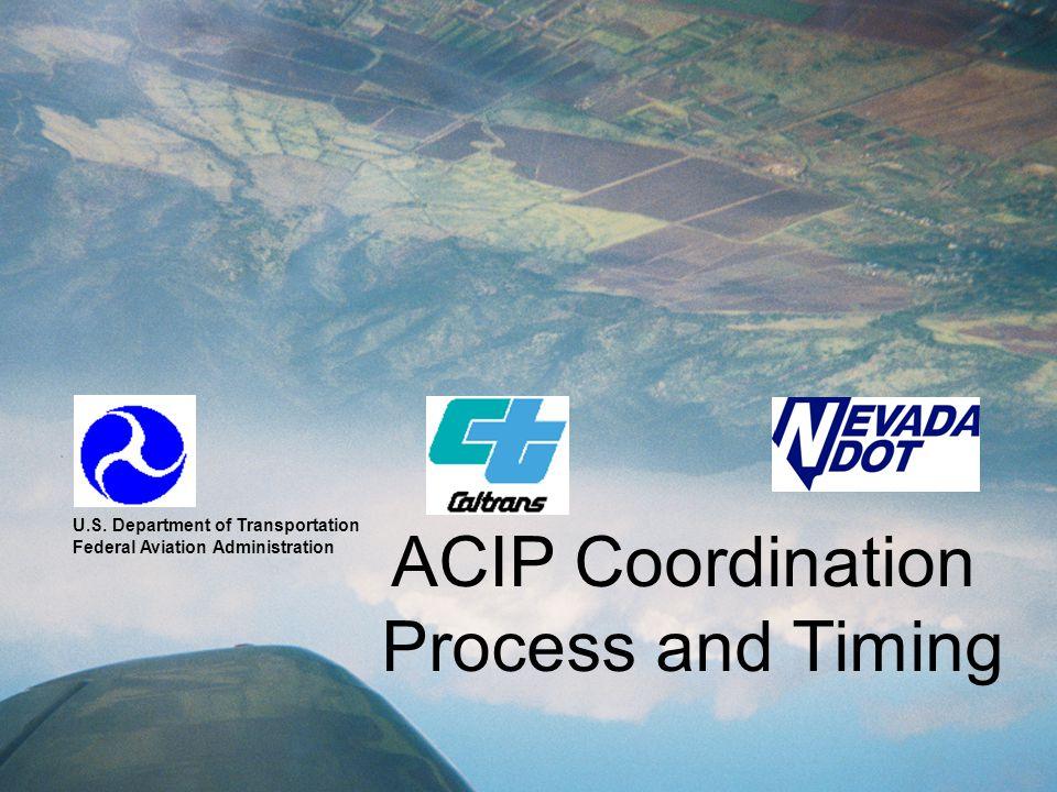 ACIP Coordination Process and Timing U.S.