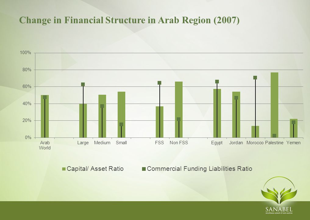 Change in Financial Structure in Arab Region (2007)