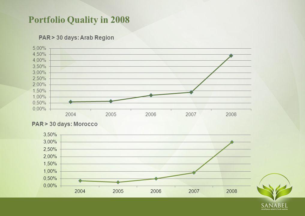 Portfolio Quality in 2008