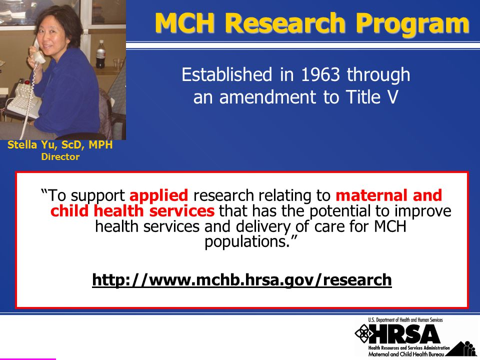 Health Resources and Services Administration Maternal and Child Health Bureau MCH Leadership Competencies I.