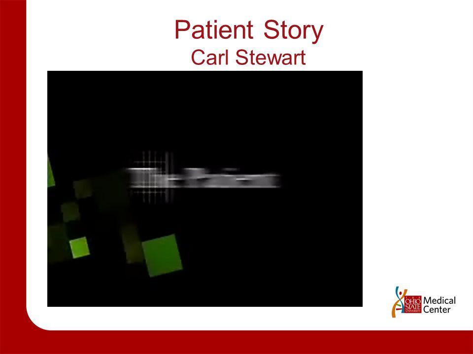 Patient Story Carl Stewart