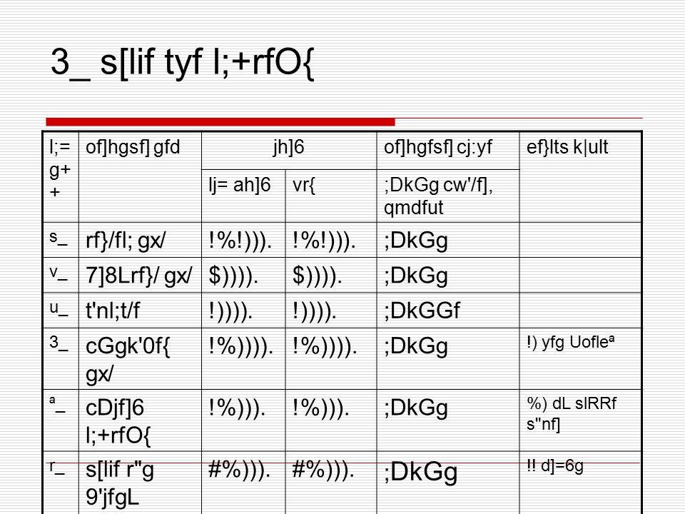 3_ s[lif tyf l;+rfO{ l;= g+ + of]hgsf] gfdjh]6of]hgfsf] cj:yfef}lts k|ult lj= ah]6vr{;DkGg cw'/f], qmdfut s_ rf}/fl; gx/!%!))). ;DkGg v_ 7]8Lrf}/ gx/$
