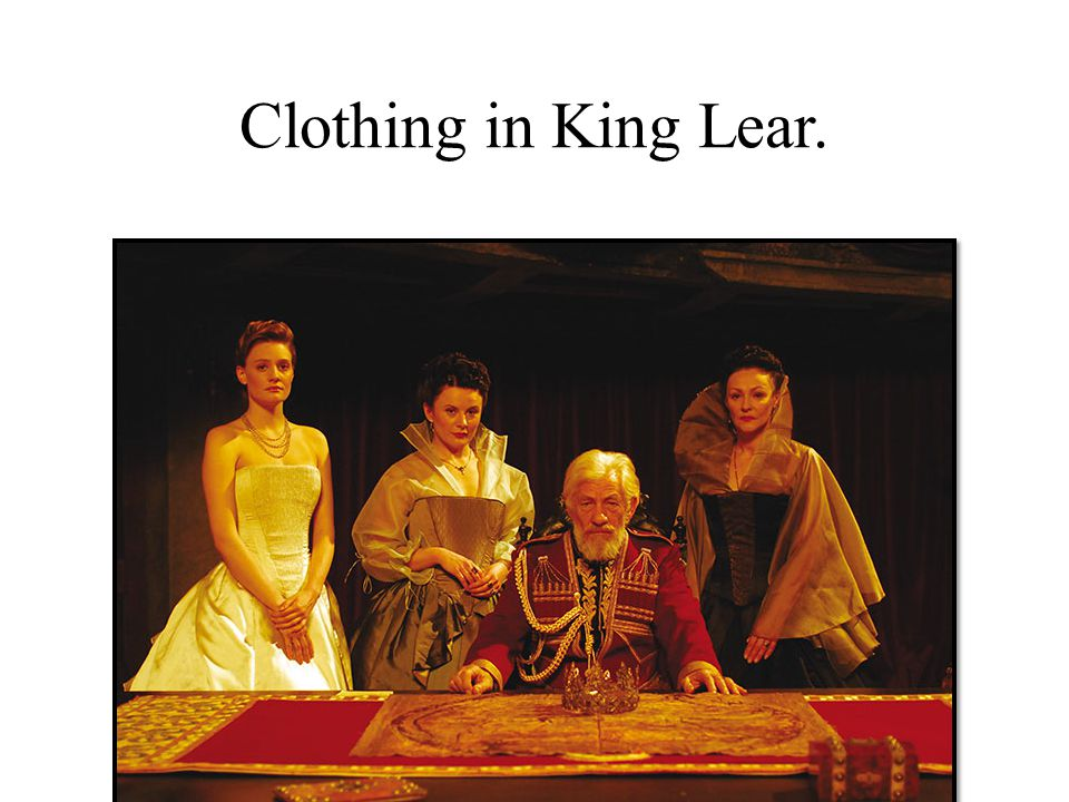 Clothing in King Lear.
