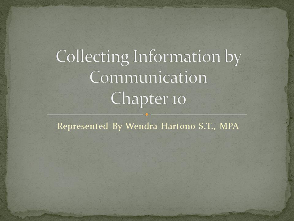Represented By Wendra Hartono S.T., MPA