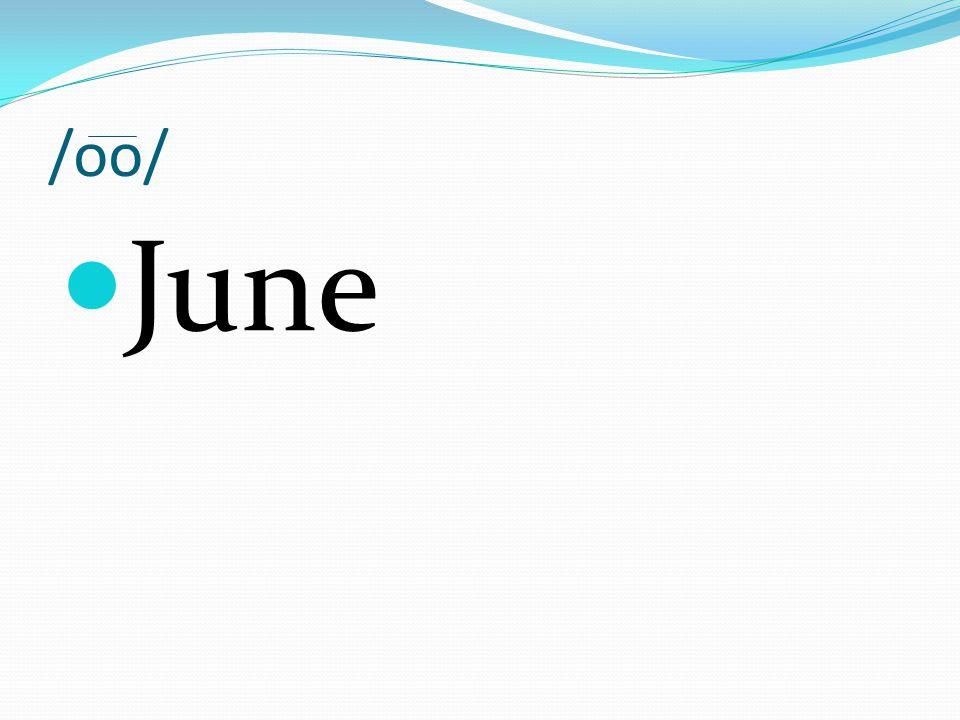 /oo/ June