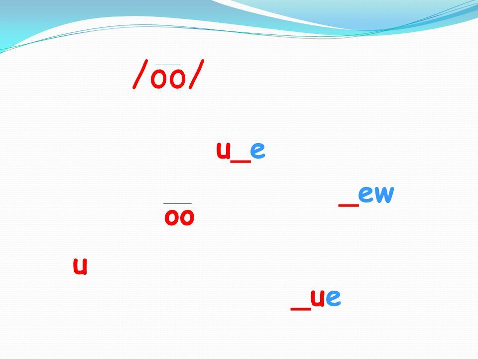 Spelling Words 6. dew 7. grew 8. due 9. ruby 10. overdue
