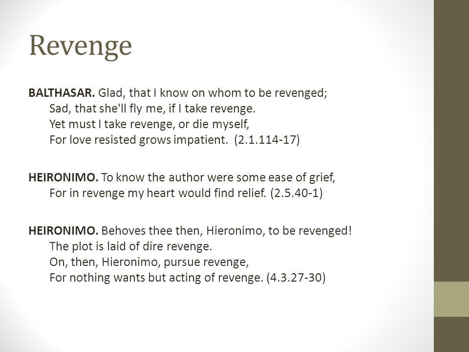 Revenge BALTHASAR.