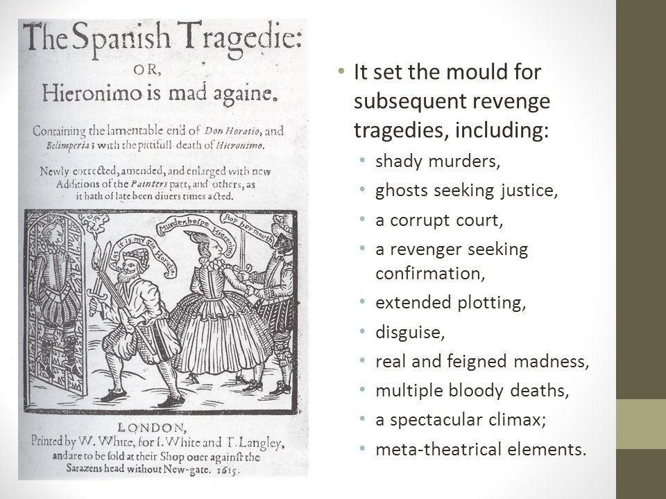How are we positioned in relation to the ending.Bel-imperia's suicide.