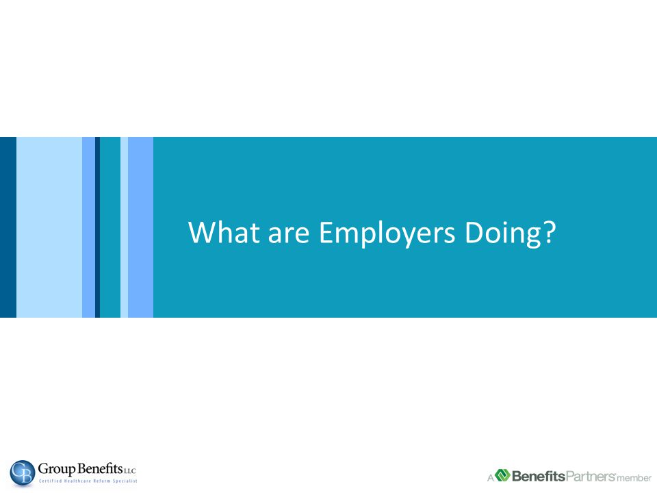 Wellness Incentives >500 employees Base = employers offering wellness programs Source: bswift SourceMedia Research, 2012 – 2014