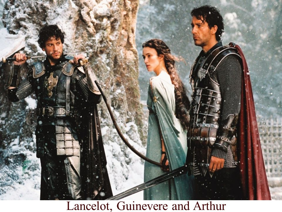 12 Lancelot, Guinevere and Arthur