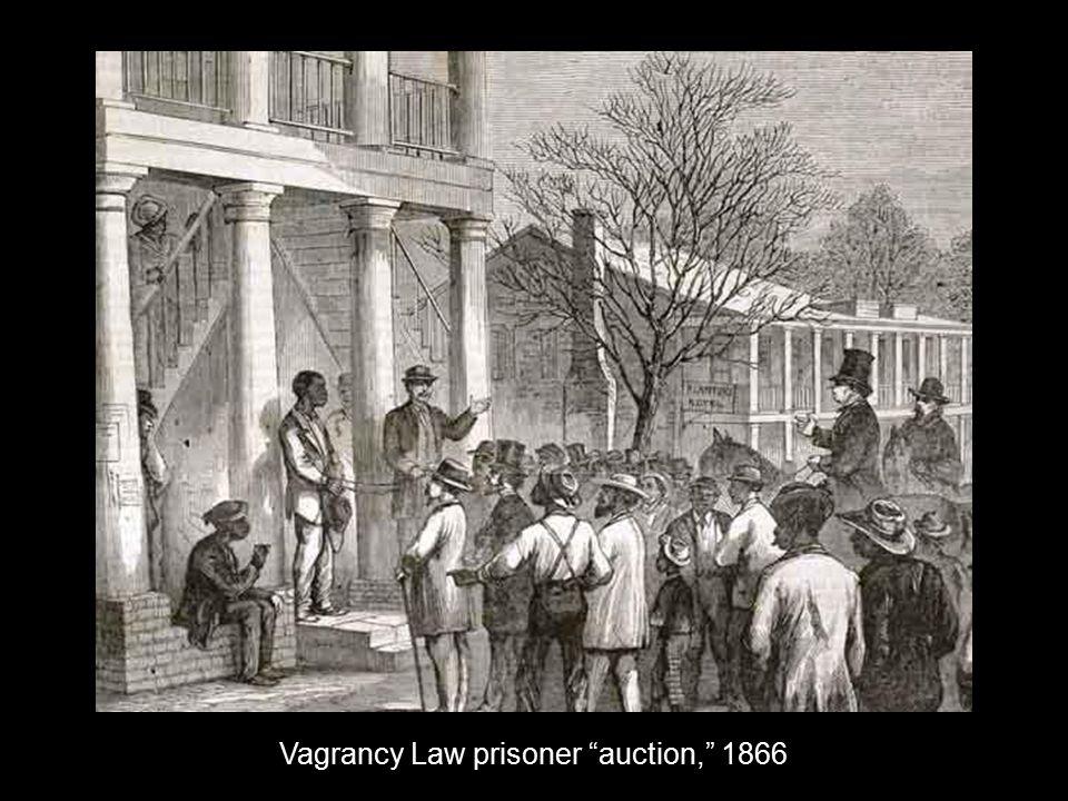 Vagrancy Law prisoner auction, 1866