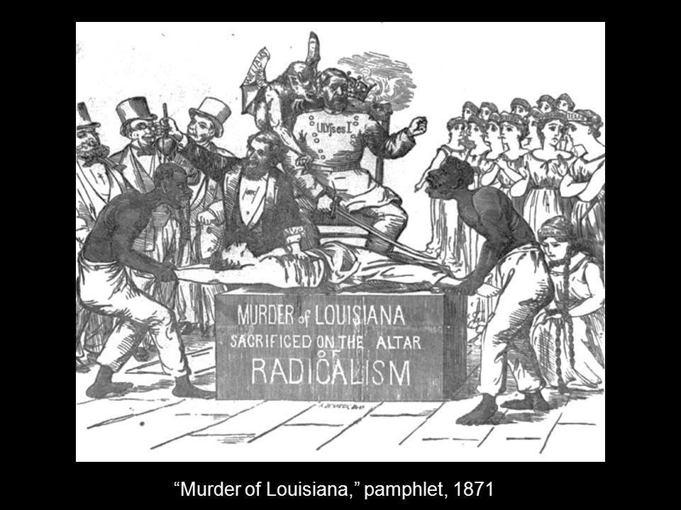 """Murder of Louisiana,"" pamphlet, 1871"