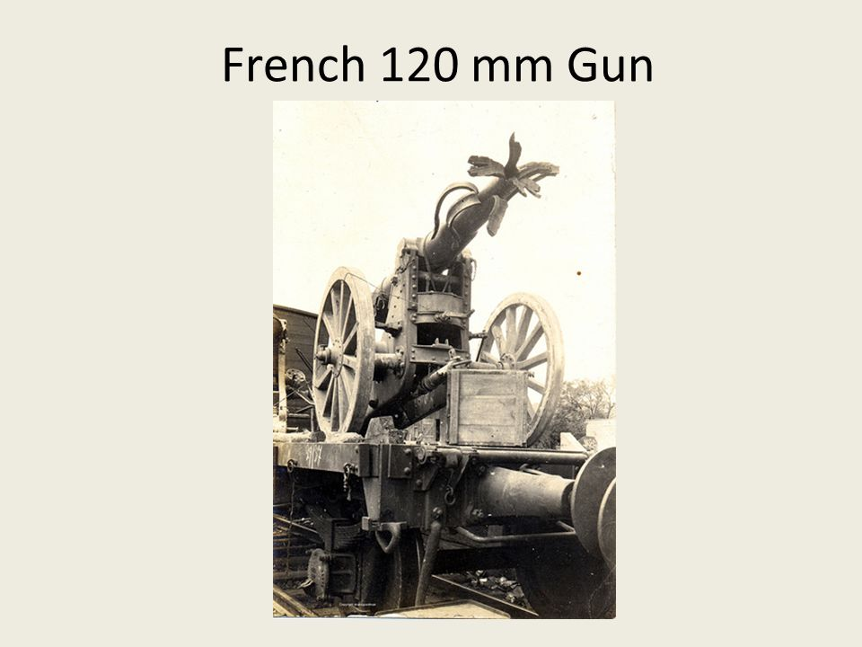 French 120 mm Gun