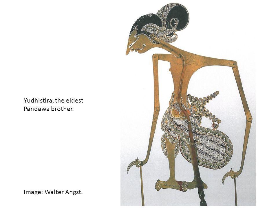 Yudhistira, the eldest Pandawa brother. Image: Walter Angst.