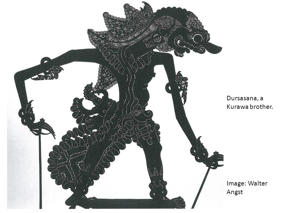 Dursasana, a Kurawa brother. Image: Walter Angst