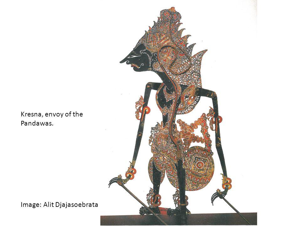 Kresna, envoy of the Pandawas. Image: Alit Djajasoebrata