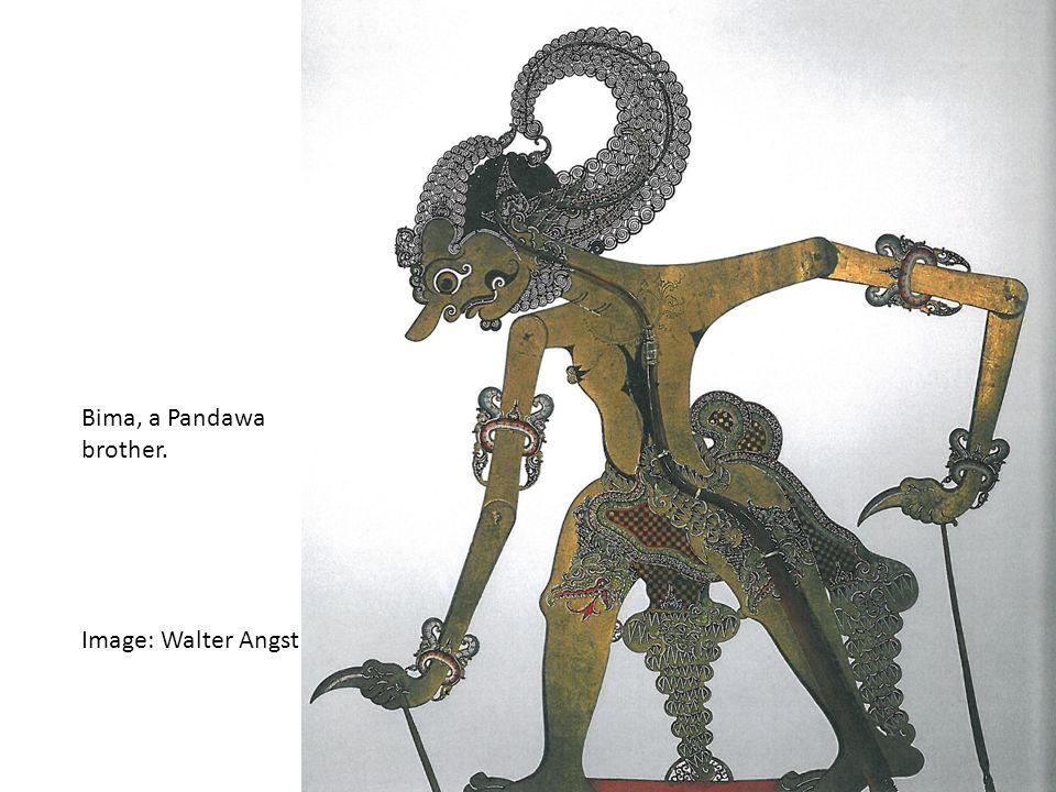 Bima, a Pandawa brother. Image: Walter Angst