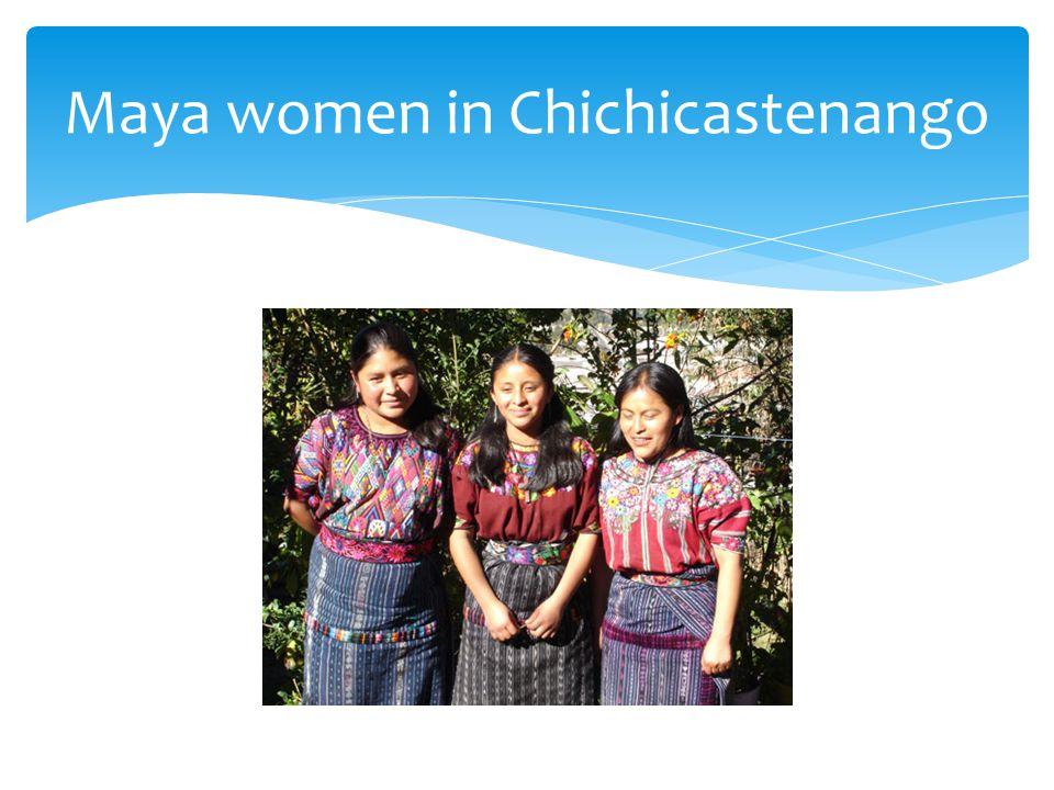 Maya women in Chichicastenango