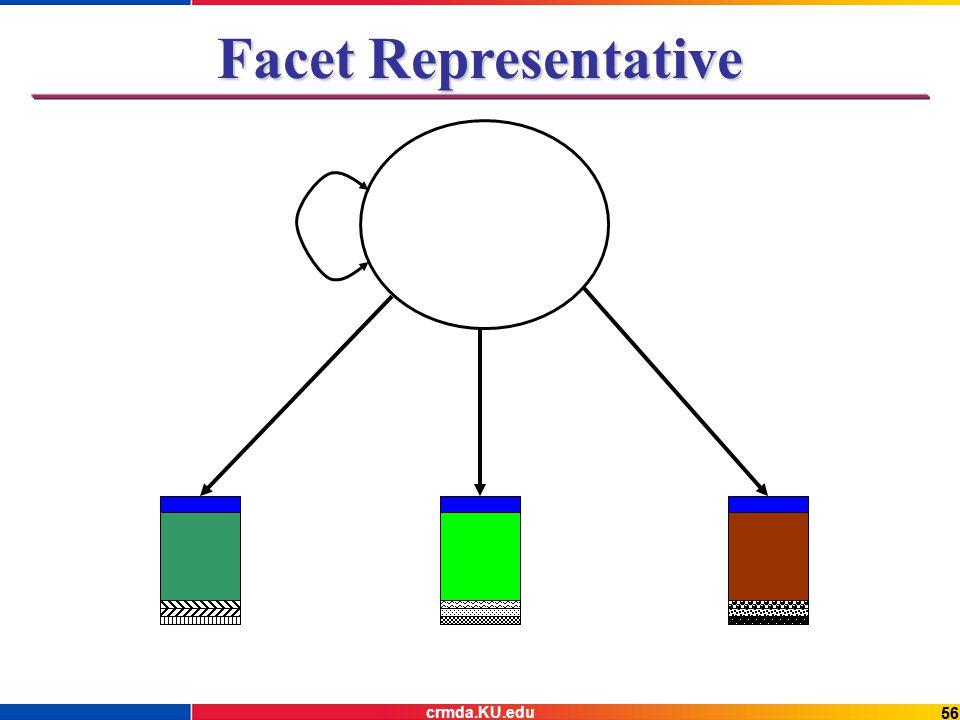 56 Facet Representative crmda.KU.edu